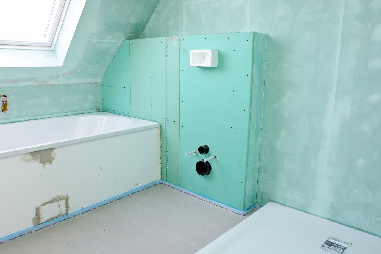Sanitärarbeiten - Badezimmer, WC, Küche und Heizung - AAXON BAU Berlin